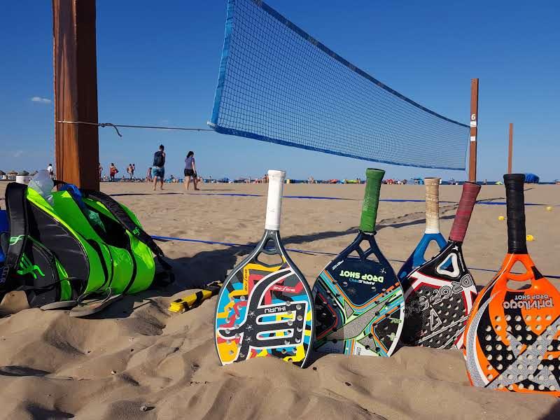 Recomendación de raquetas y palas de Tenis Playa